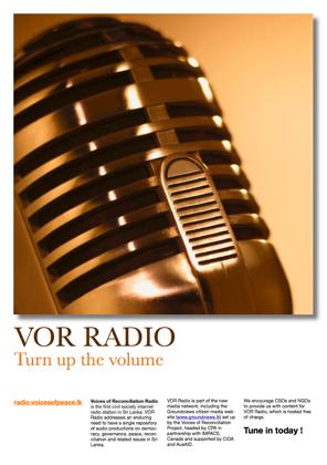 Vor Radio Poster 1