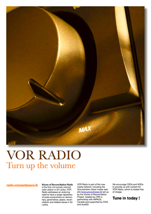 Vor Radio Poster 2