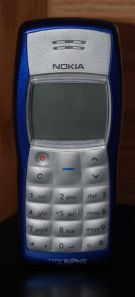 Nokia 1100. The best selling phone in the world. Image courtesy Wikipedia.