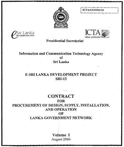 ICTA Agreement